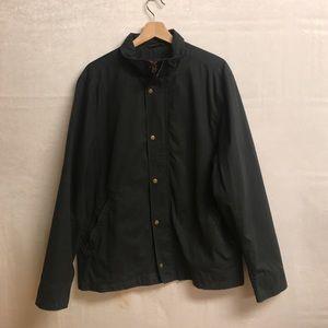 Men's Dark Green Canvas jacket size large